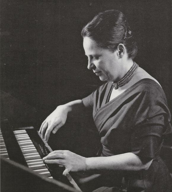 Isolde AHLGRIMM, photo de presse Philips, env. 1960