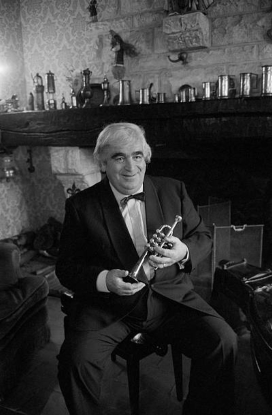 Maurice André, un portrait fait par Maurice Lochon en 1983 à Paris