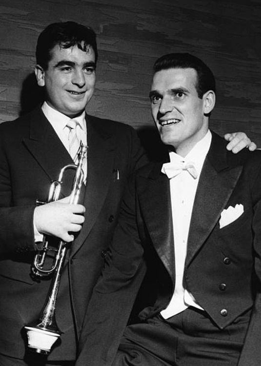 Maurice André et James Milligan, CIEM Genève, 1955