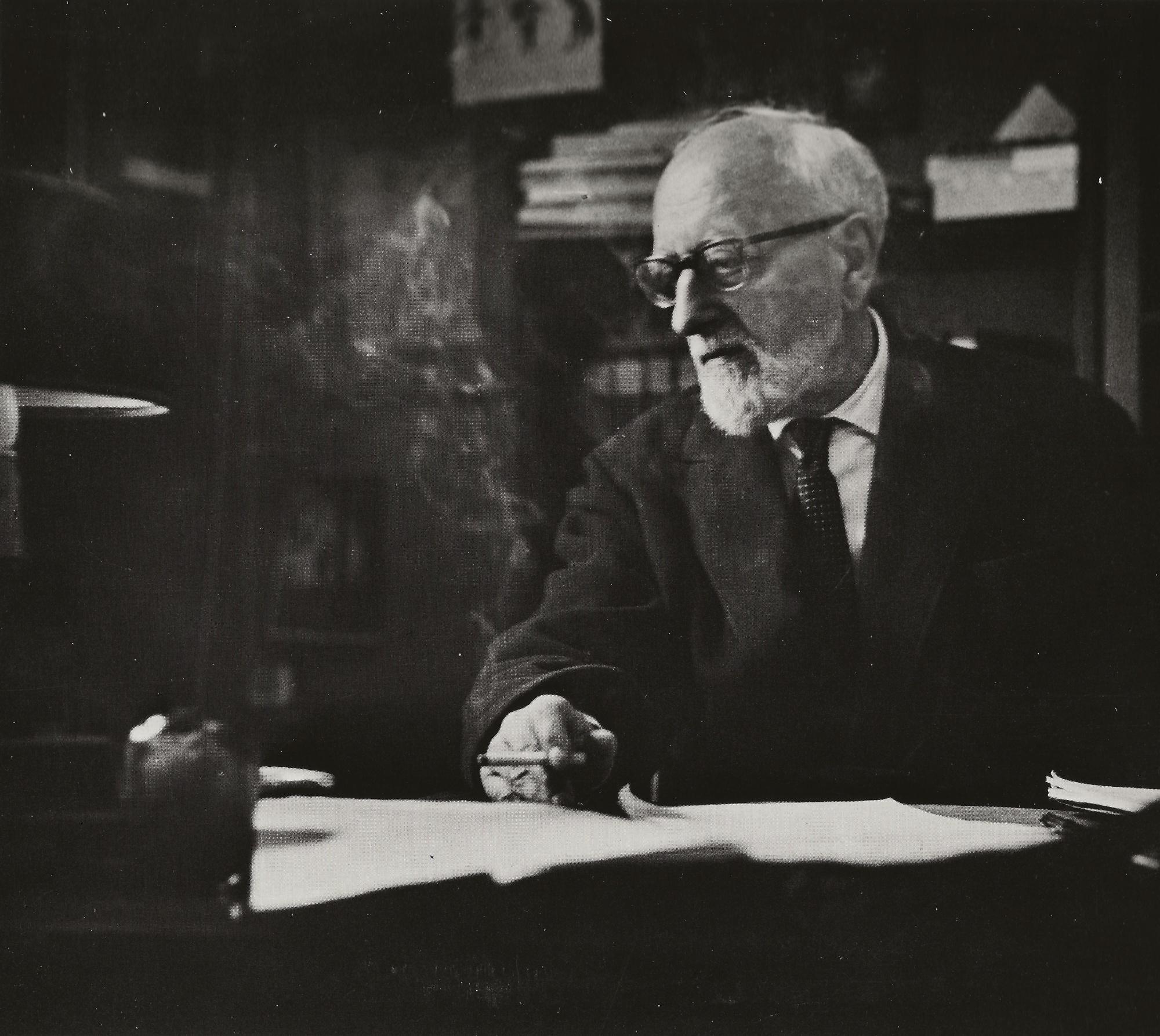 Ernest ANSERMET, un portrait de Jean MOHR
