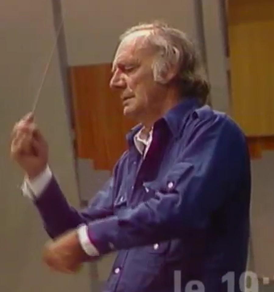 Jean-Marie AUBERSON, instantané cité de l'émission de la TSR «<i>Les couleurs de l'orchestre</i>» du 26 janvier 1993, cliquer pour une vue agrandie