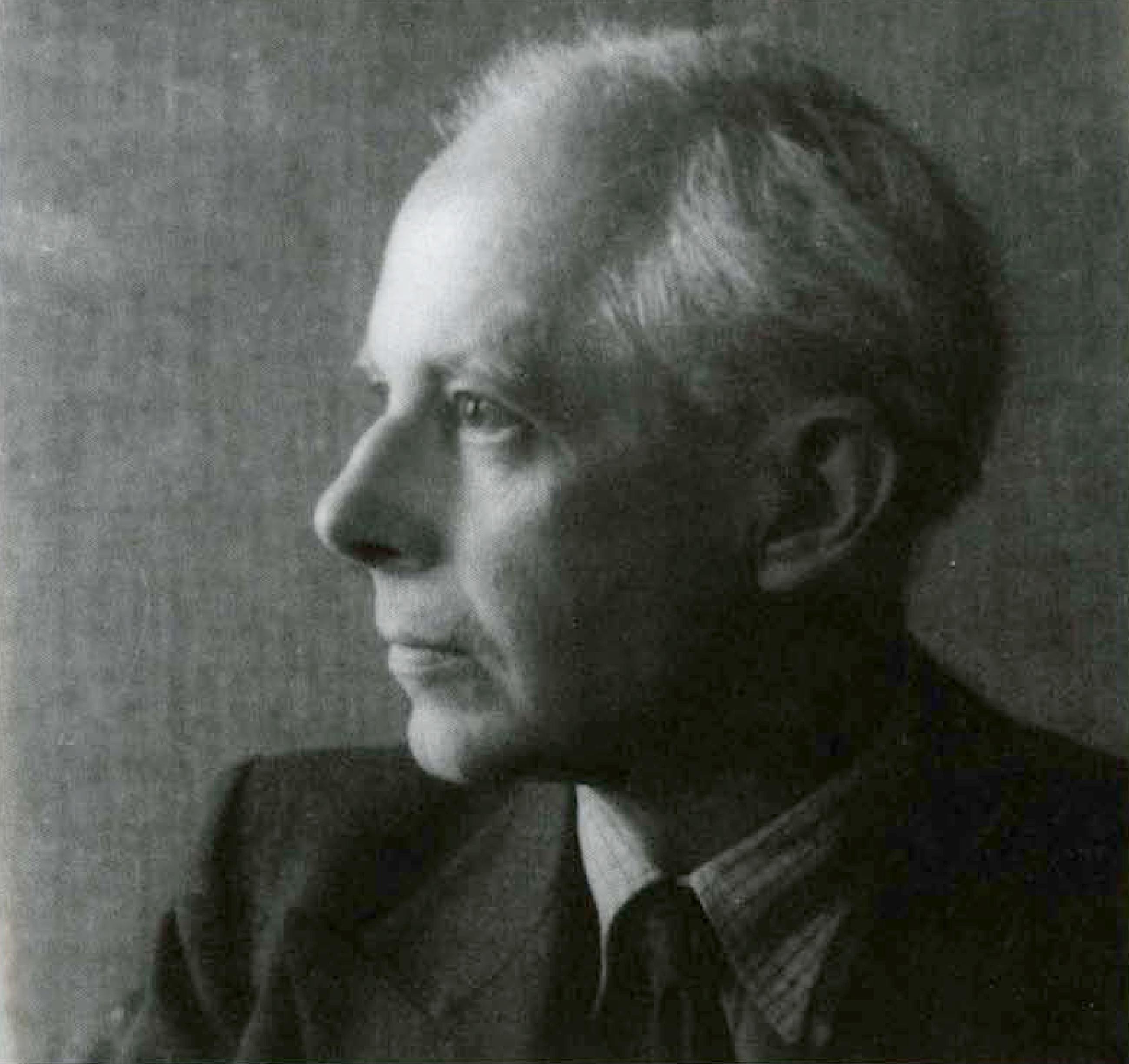 Bela Bartok en 1938, un portrait fait par Charles Leirens
