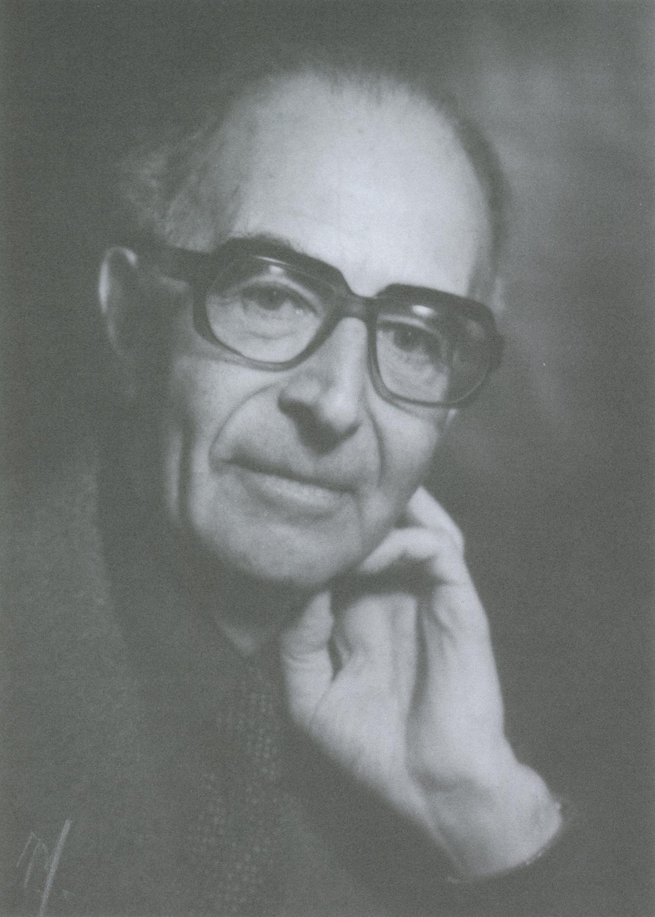 Samuel BAUD-BOVY, années 1980, Jean Mandanis, photographe à Genève (1915 - 07.08.2011), cliquer pour une vue agrandie