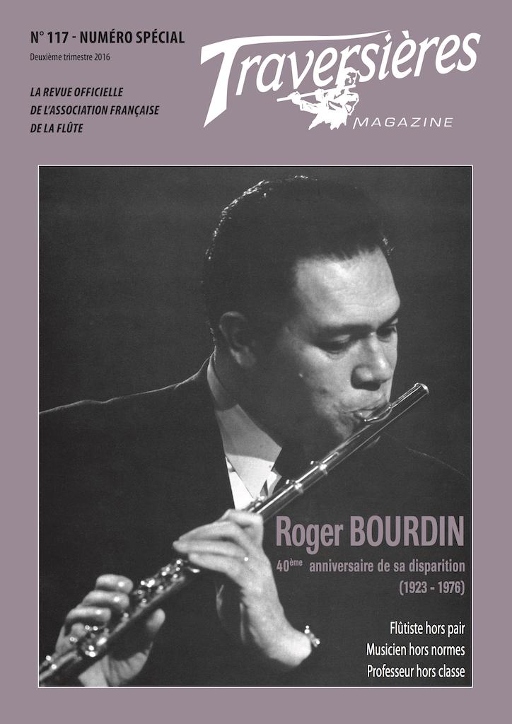 Roger BOURDIN, couverture du numéro spécial publié par latraversiere.fr, cliquer pour accéder au site