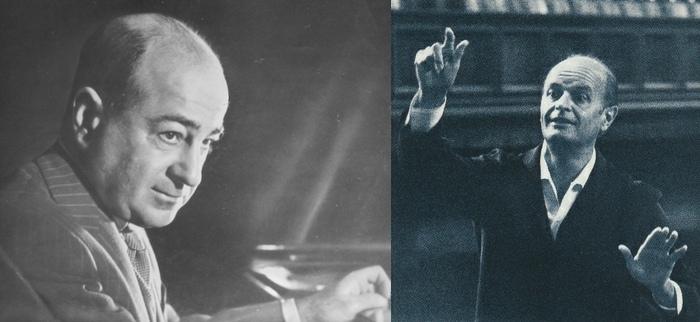 Shura CHERKASSKY et Ferenc FRICSAY