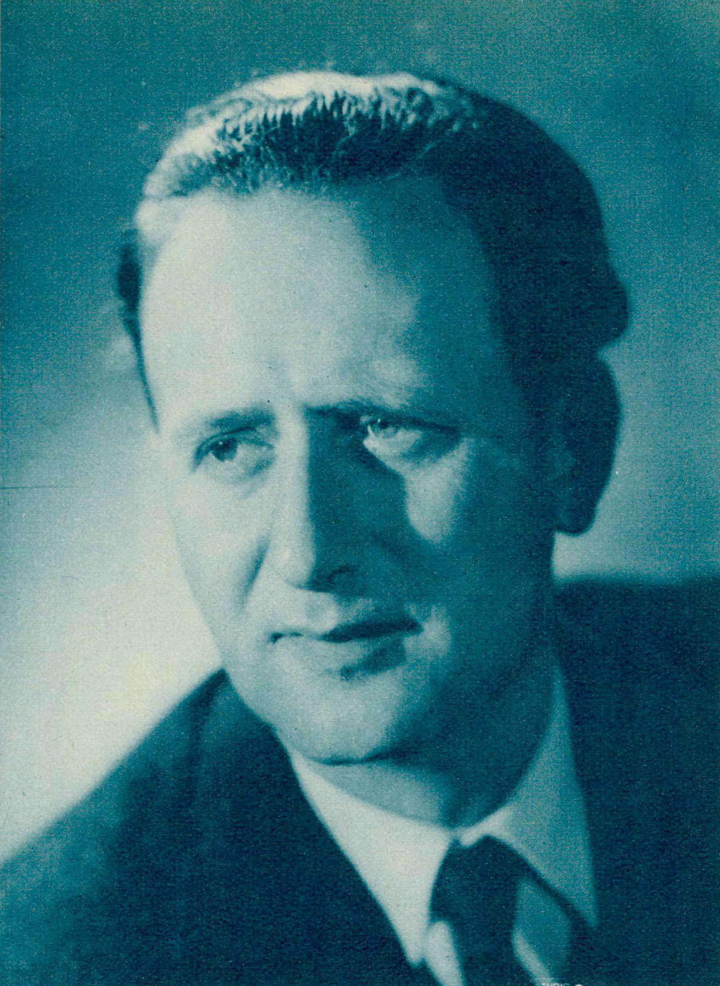 Pierre Colombo, un portrait fait par Photo Le Foulon, Genève. Cliquer pour une vue agrandie