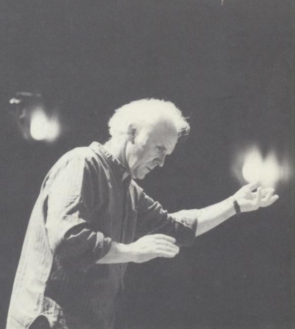 Michel CORBOZ, portrait fait par Michel SARRAT pour Erato