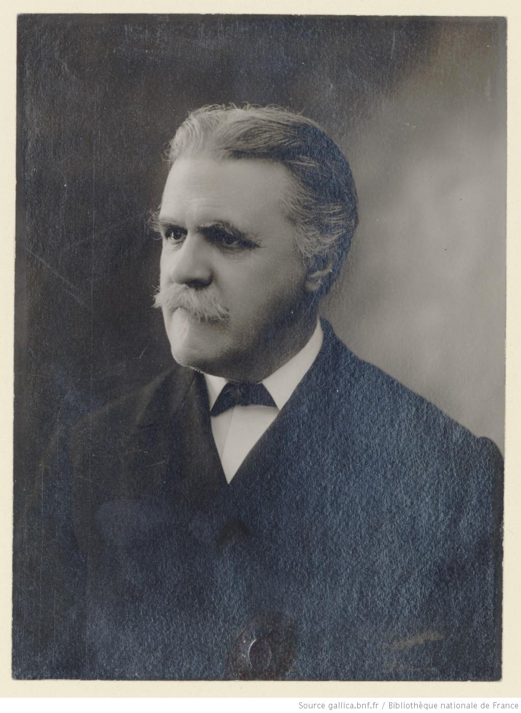 Vincent d'Indy, photo d'Henri Manuel, Gallica, Cliquer sur la photo pour l'original et ses références