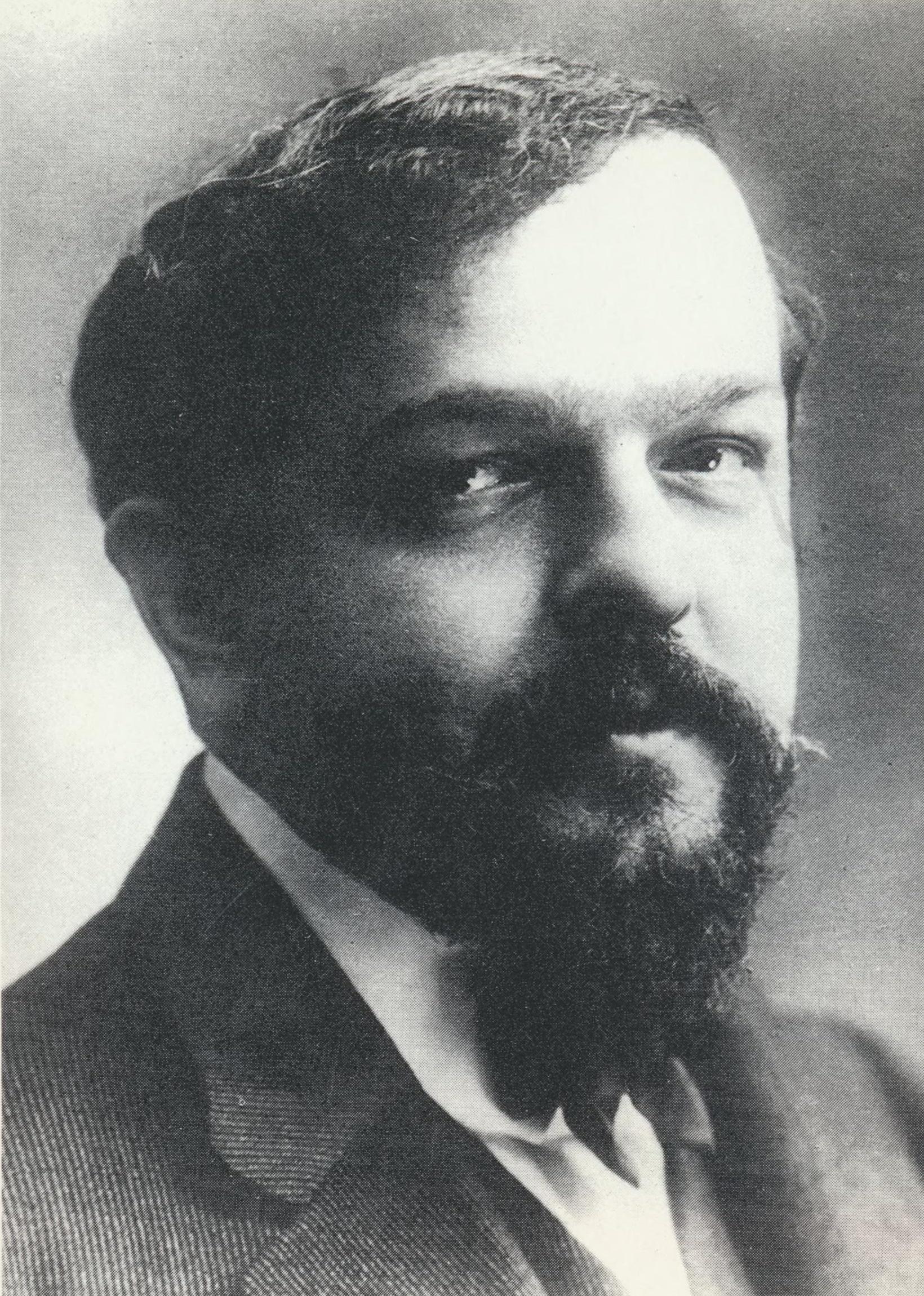 Claude DEBUSSY, un portrait fait par NADAR vers 1908, Cliquer sur la photo pour une vue agrandie et quelques infos