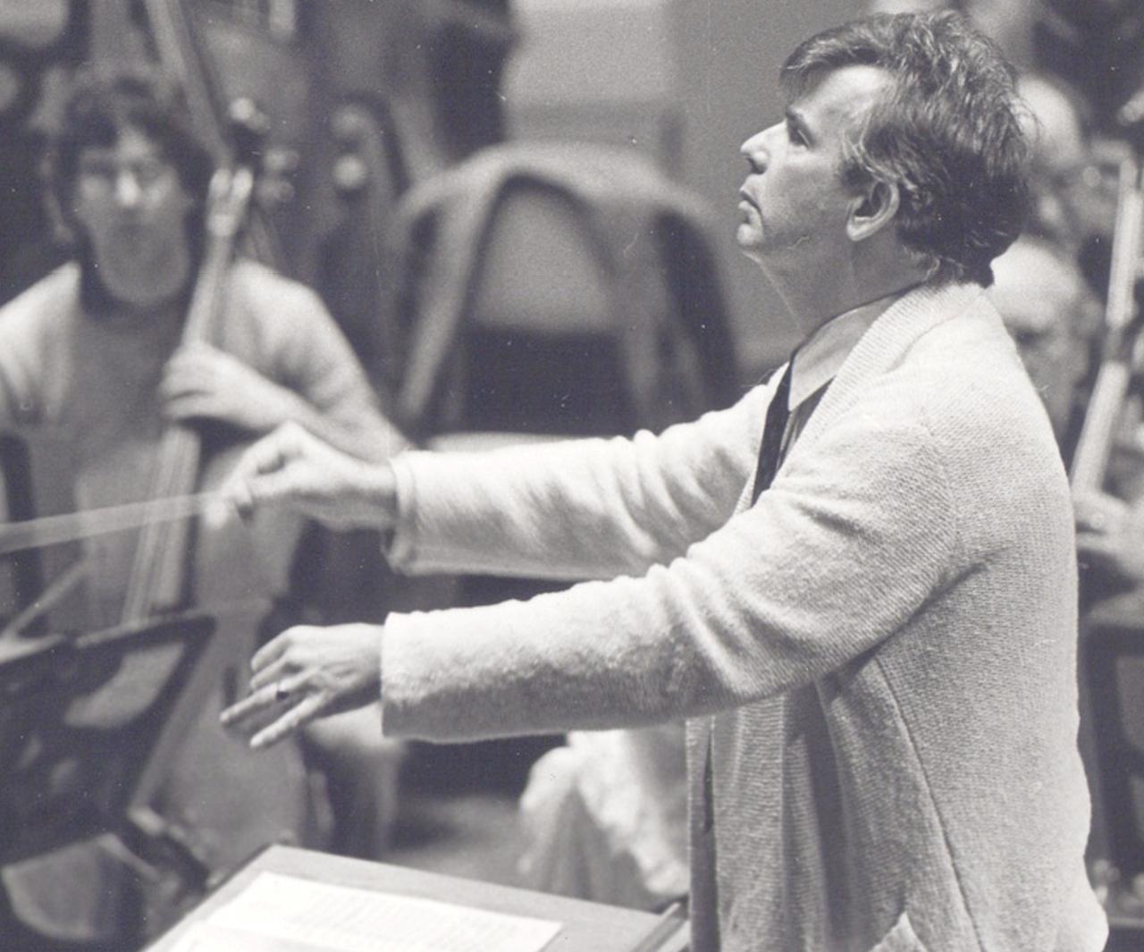 Christoph von DOHNANYI, Cleveland, Severance Hall 1983