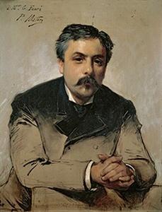 Gabriel FAURÉ, portrait fait par Paul Mathey dans les années 1870
