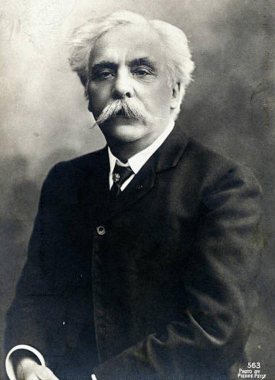 Gabriel FAURÉ vers 1920, un portrait fait par Pierre PETIT