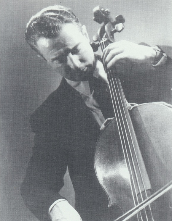 Pierre FOURNIER, photo de presse Archiv Produktion, photographe et date inconnus