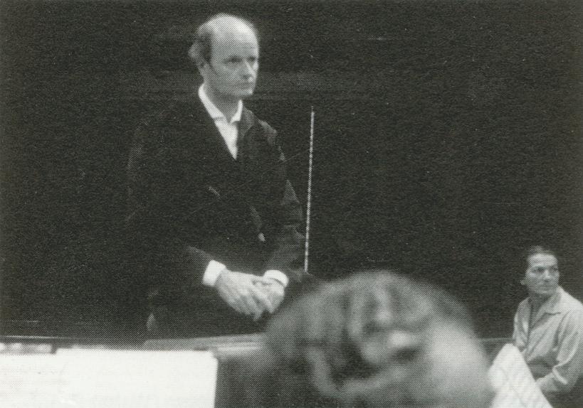 Annie FISCHER et Ferenc FRICSAY en répétion avec l'Orchestre Symphonique de la Radio Bavaroise, novembre 1960, Muenich, une photo de Gustav MEYER