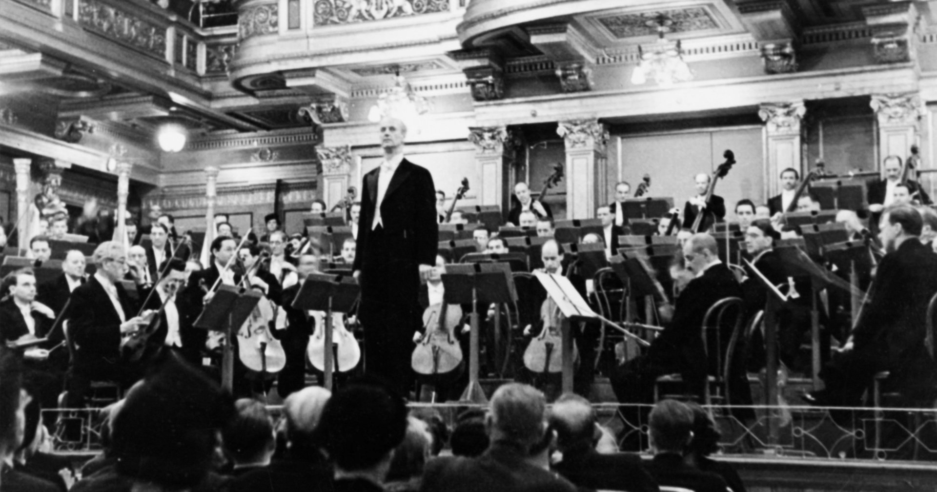 Wiener Philharmoniker mit Wilhelm Furtwängler um 1940