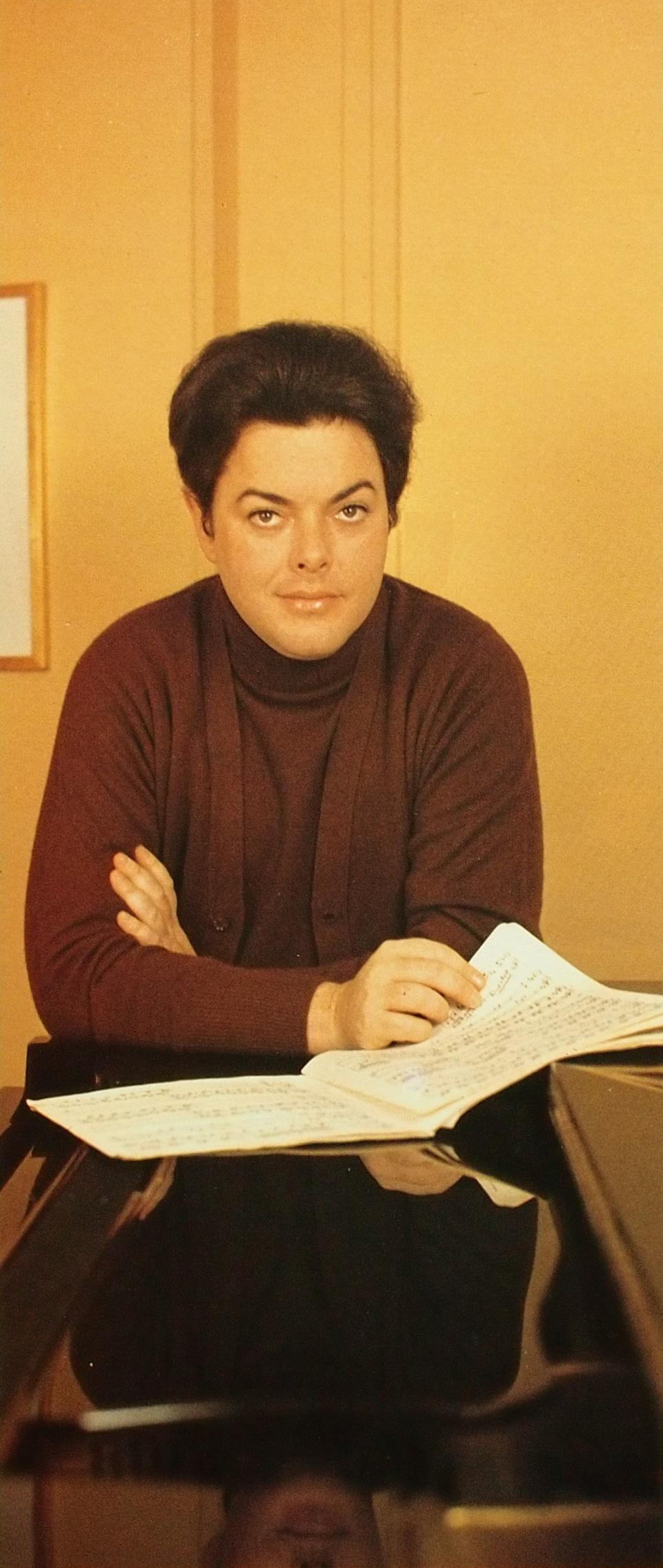 Bruno-Leonardo GELBER, photo de presse EMI, photographe, date et lieu inconnus