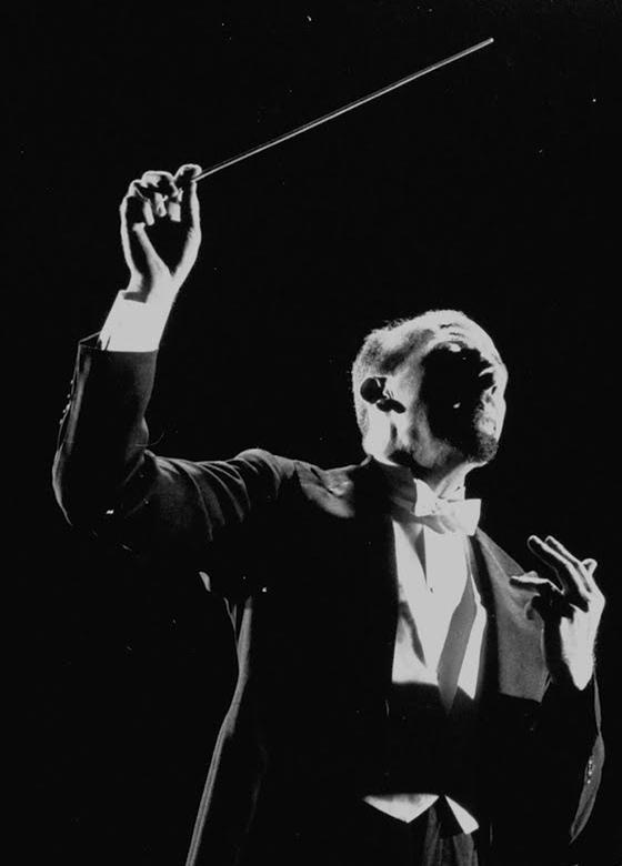 Max Goberman, extrait d'une photo faite en 1947 pour TimeLife par Gjon Mili