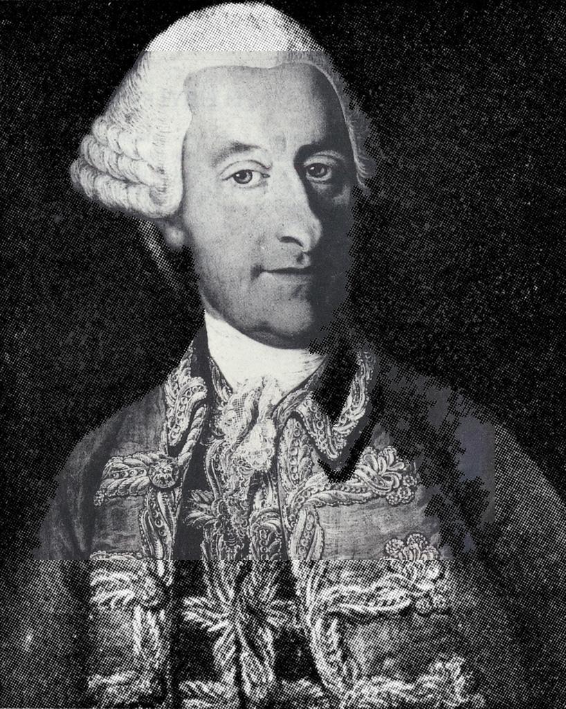 Joseph HAYDN, portrait fait par le peintre J.B. Grundmann en (?)1768(?), le plus ancien portrait connu
