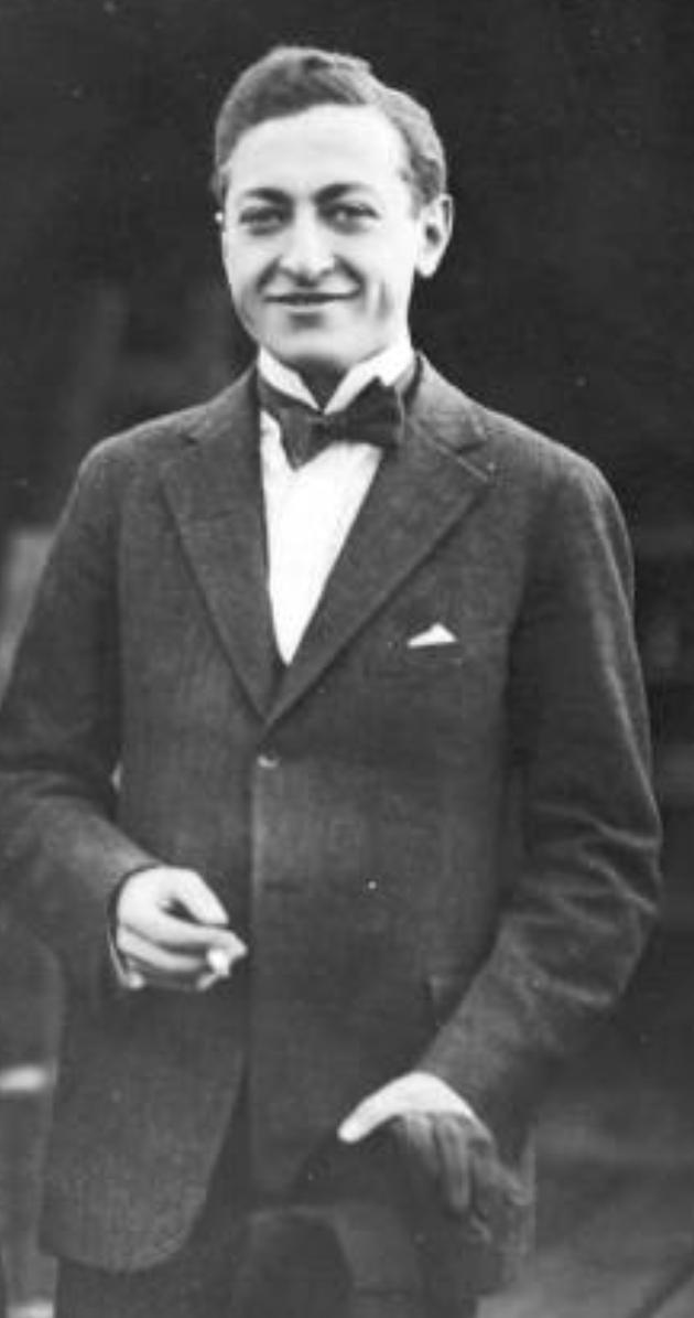 Jascha HEIFETZ vers 1930, photographe, datze exacte et lieu inconnus