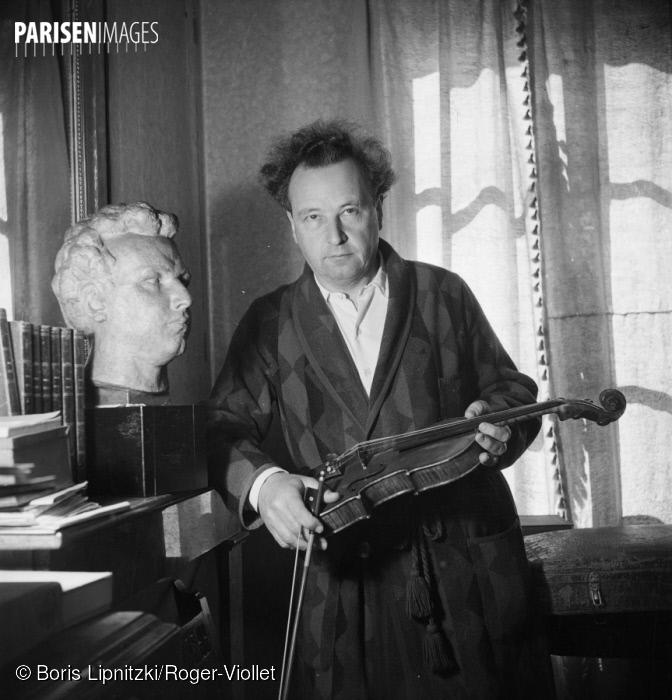 Arthur HONEGGER, Paris, 1949, ParisEnImages © Boris Lipnitzki/Roger-Viollet, Cliquer sur la photo pour l'original et ses références