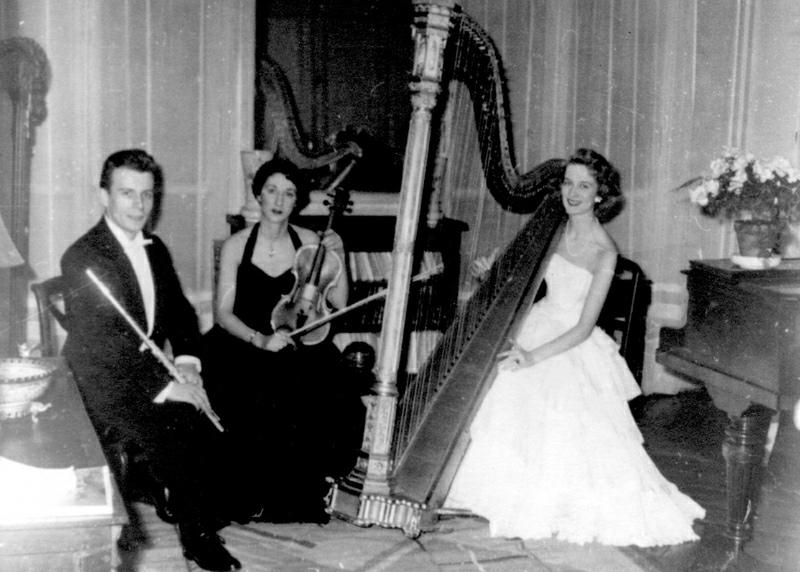 Trio Marie-Claire Jamet, avec Christian Lardé, flûte, et Colette Lequien, alto