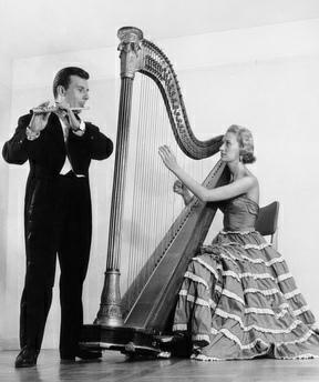 Christian Lardé et Marie-Claire Jamet, date, lieu et photographe inconnus