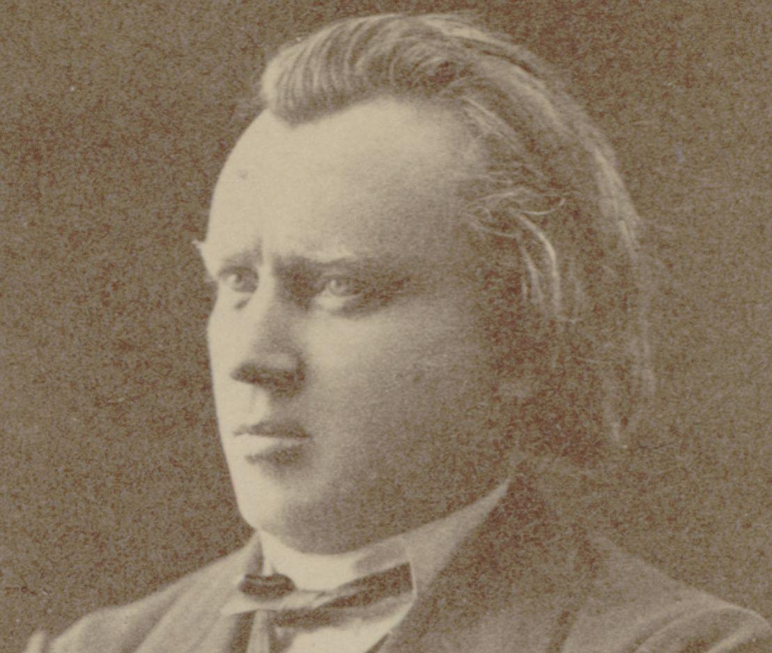 Johannes BRAHMS, un portrait fait par ??, Bibliothèque Nationale de France, ark:/12148/btv1b84160058, Cliquer sur la photo pour voir l'original et plus d'informations