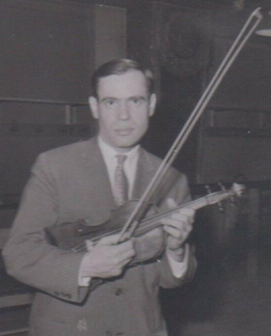 Leonid KOGAN, probablement à Paris en 1959