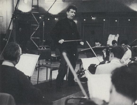 Peter MAAG en pleine action, photo de presse de Decca