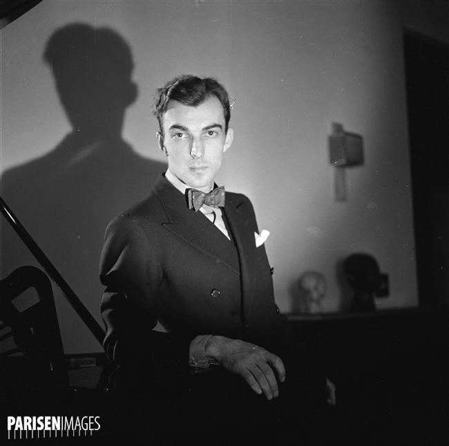 Igor MARKEVITCH, mai 1936, Paris, © Roger-Violet et Boris Liptnitzi, PARISENIMAGES, cliquer pour voir l'original