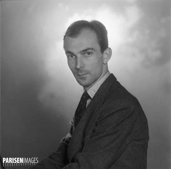Igor MARKEVITCH, juin 1948, Paris, © Roger-Violet et Boris Liptnitzi, PARISENIMAGES, cliquer pour voir l'original