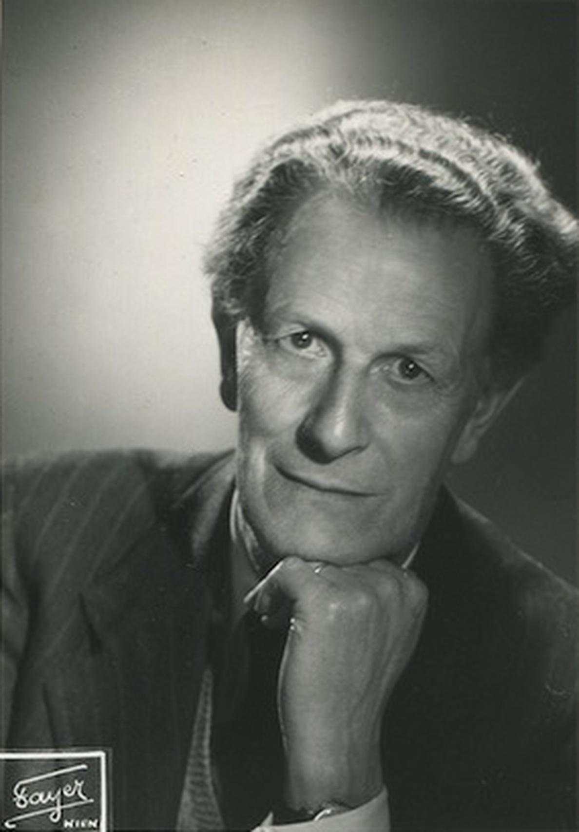 Frank MARTIN, photo de l'agence Fayer, Vienne, date ??