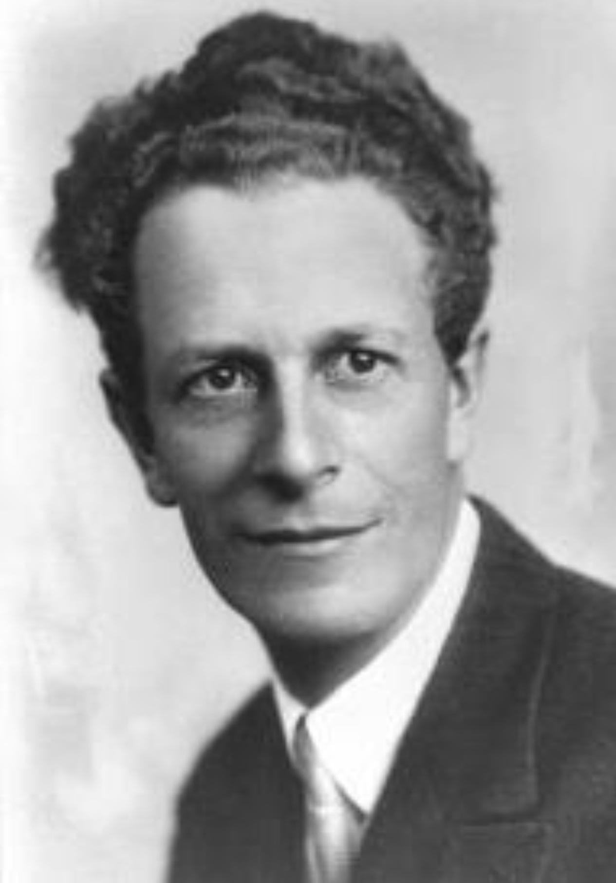 Frank MARTIN dans les années 1930, Photo Julien, Genève, Cliquer sur la photo pour une vue agrandie et les références