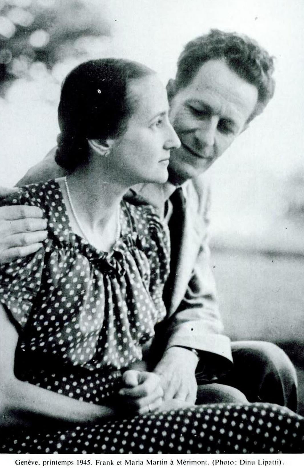 Maria et Frank MARTN, 1945, Cliquer sur la photo pour une vue agrandie et les références
