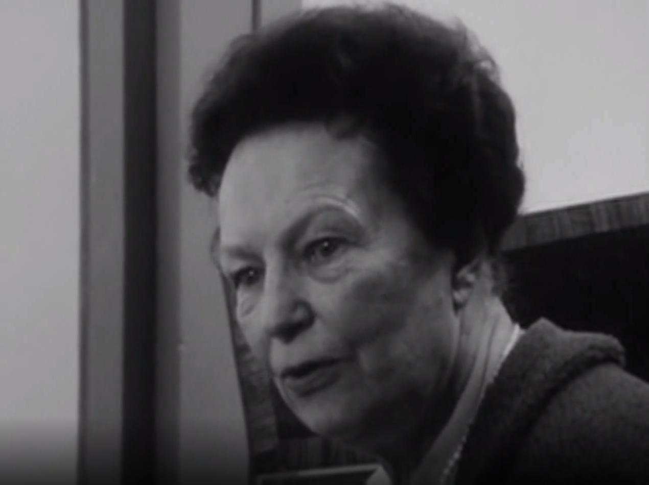 Isabelle NEF, portrait cité d'une émission Carrefour de la Radio Télévision Suisse Romande diffusée le 8 février 1967