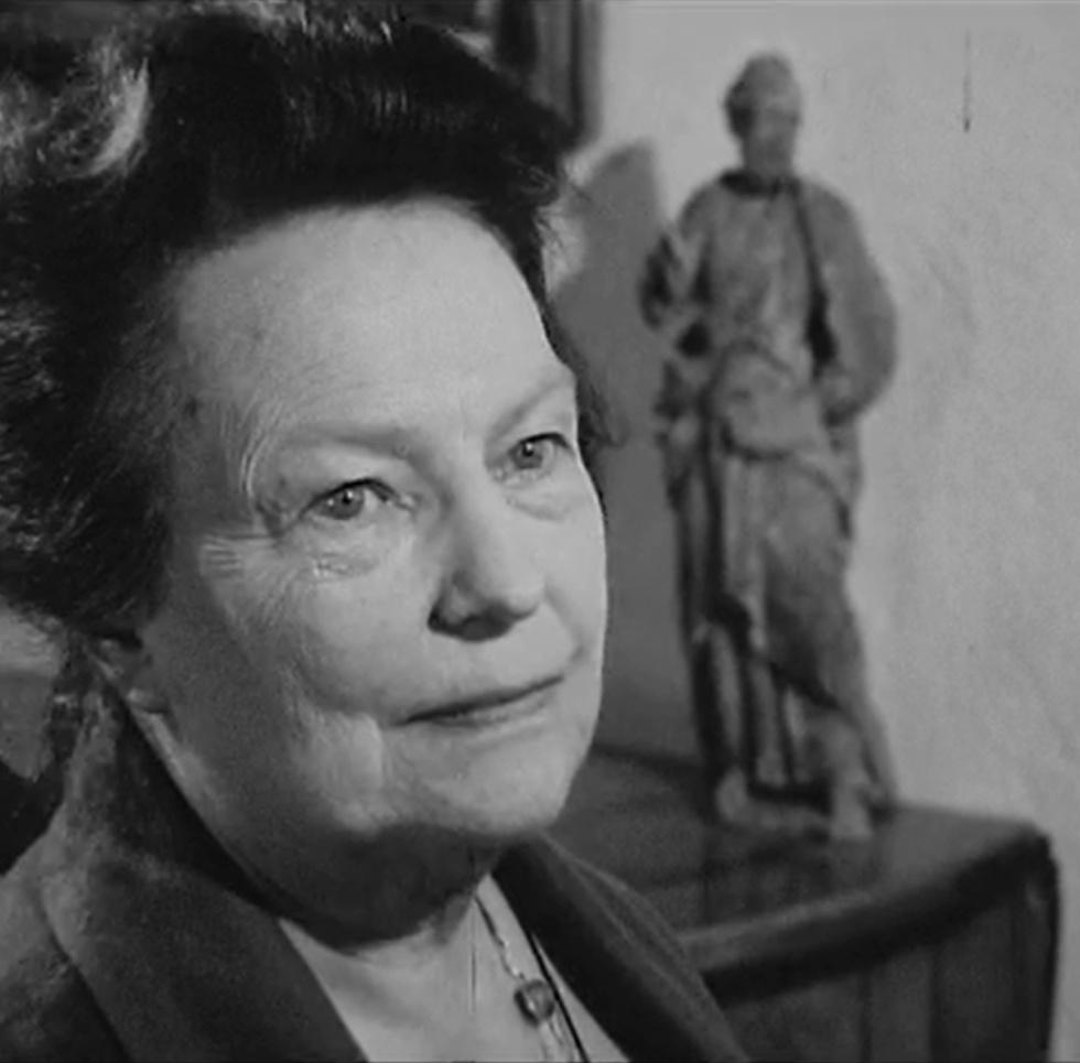 Isabelle NEF, cité d'un film réalisé par Pierre MATTEUZZI pour la Télévision suisse romande (TSR), diffusé par la TSR le 30 avril 1968