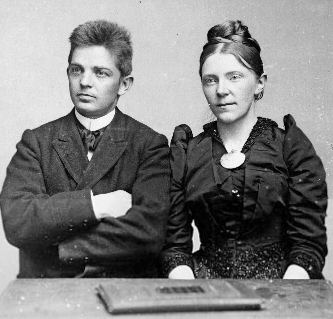Carl NIELSEN et son épouse Anne-Marie