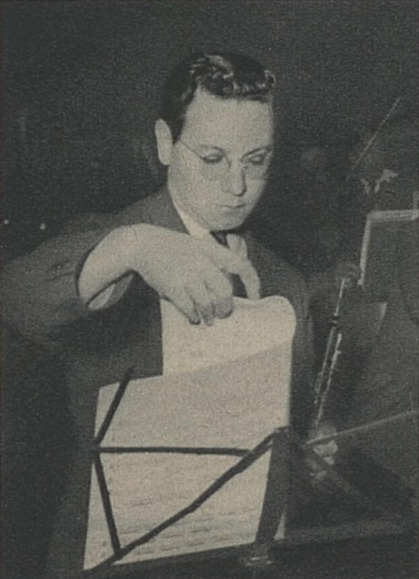 Pierre PIERLOT, 1949, portrait réalisé par Photo Bertrand, Genève