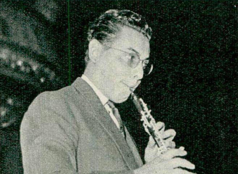 Pierre PIERLOT, 1958, portrait réalisé par Photo Wassermann, Genève