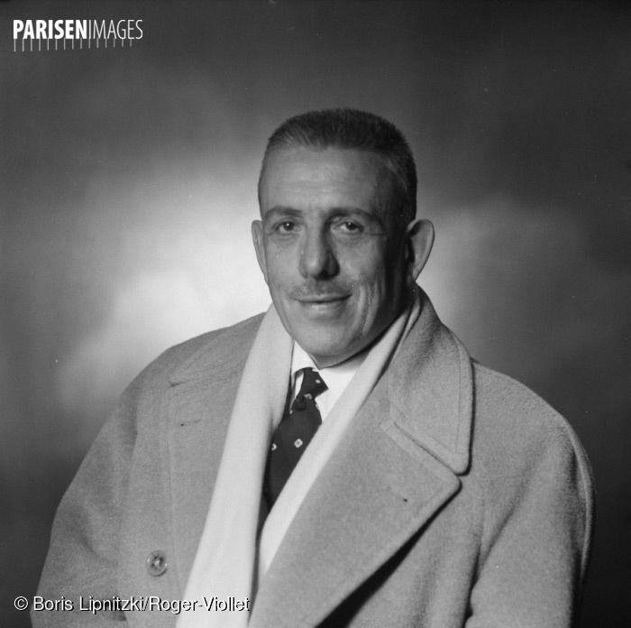 Francis Poulenc, 1957, cliquer sur la photo pour voir l'original et ses références
