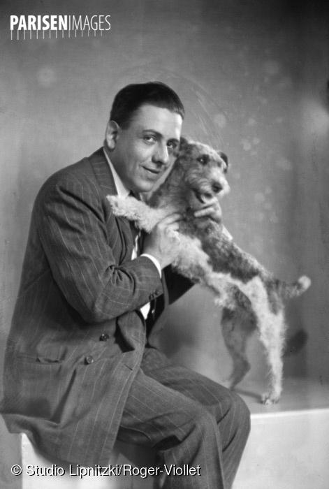 Francis Poulenc, cliquer sur la photo pour voir l'original et ses références