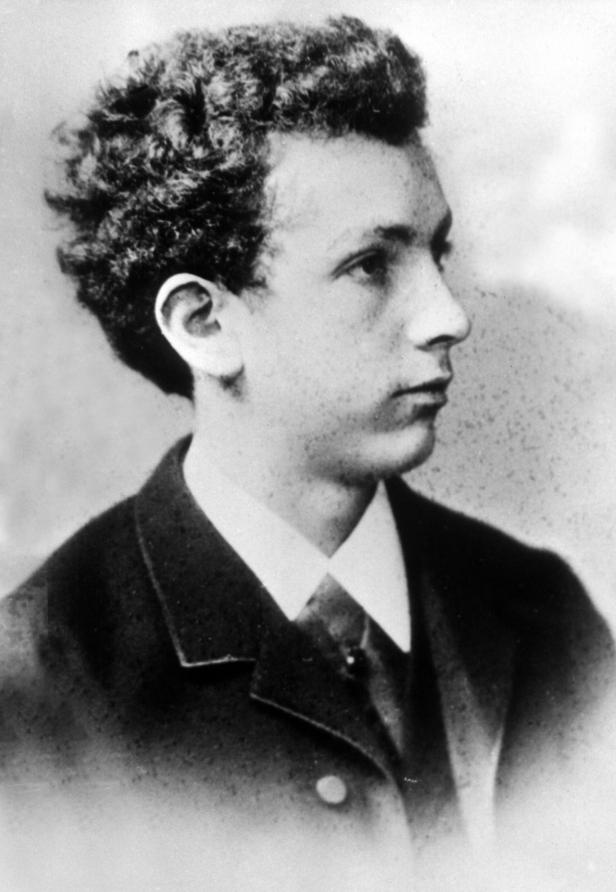 Le jeune Richard STRAUSS, date et photographe inconnus