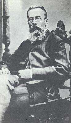 Nikolaï RIMSKI-KORSAKOW vers 1890, auteur de la photo inconnu