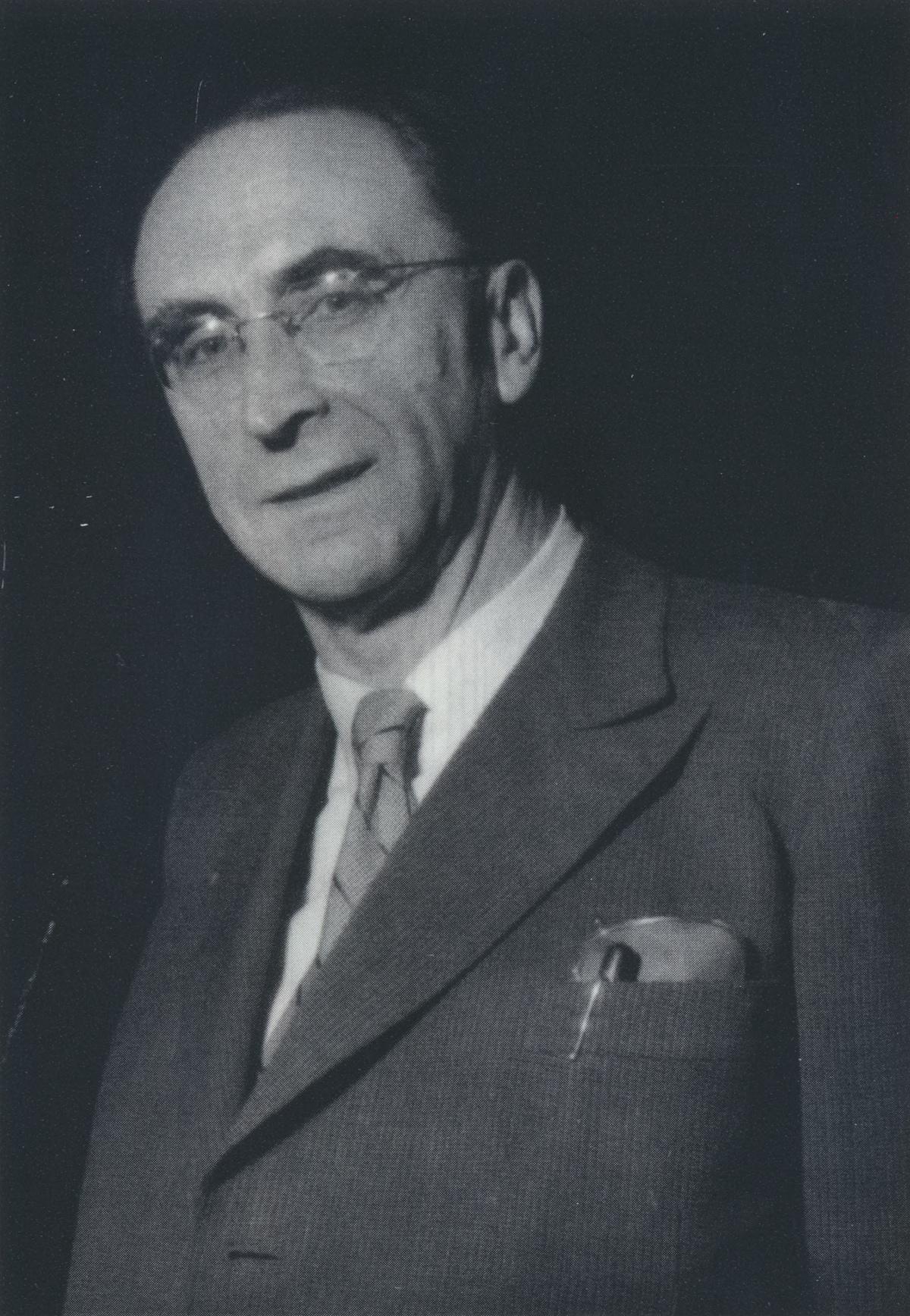 Hans ROSBAUD, photo des archives de la SWR, lieu, date et photographe inconnus