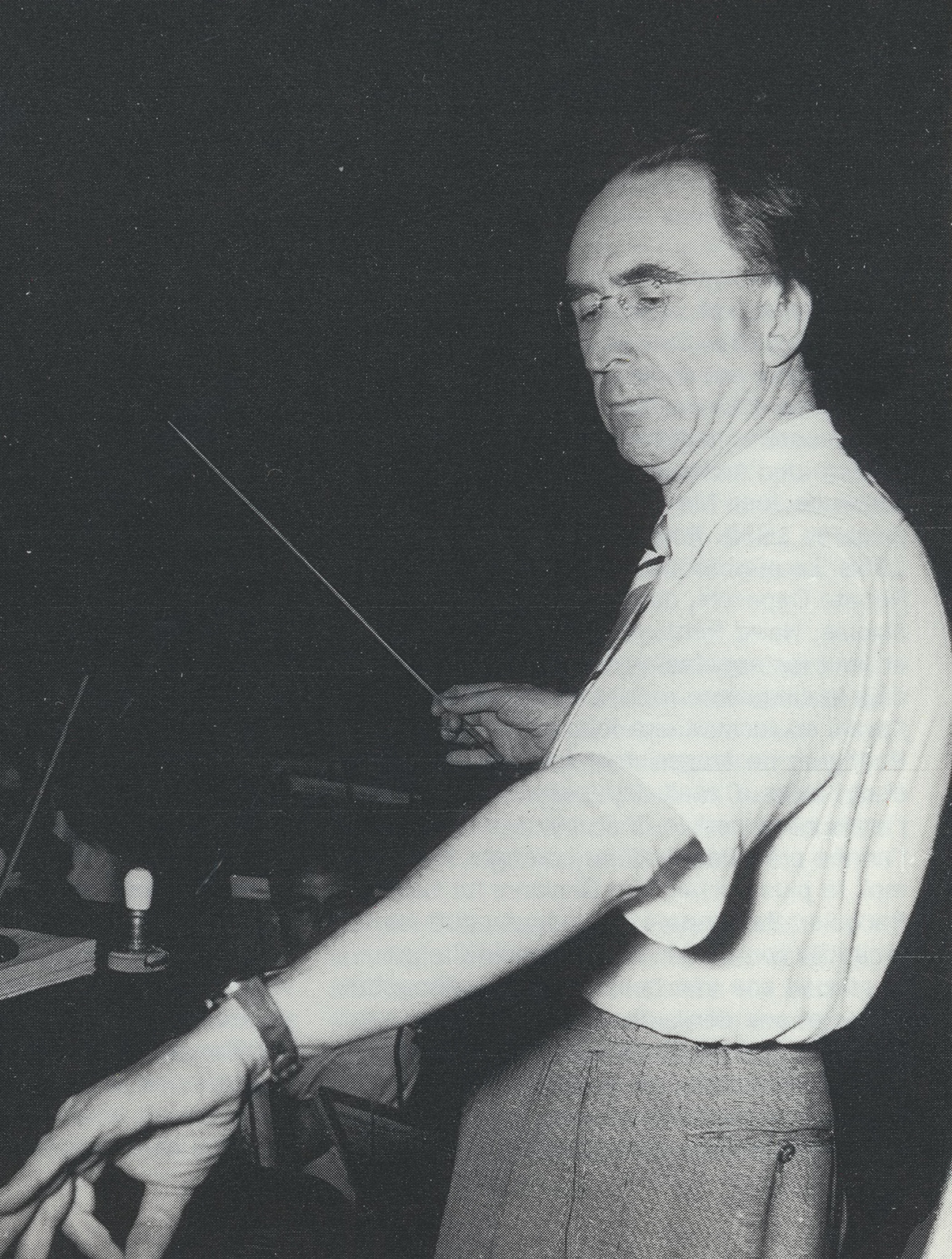 Hans ROSBAUD, une photo de Marcel Arthaud, date inconnue