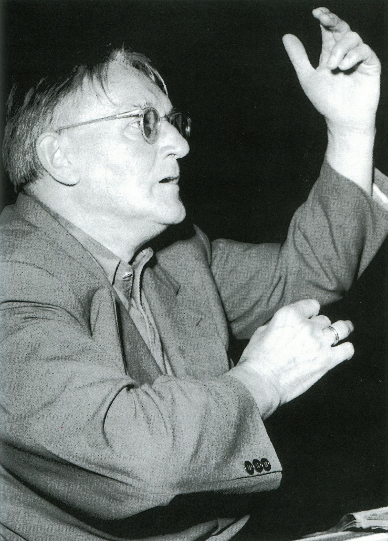 Hermann SCHERCHEN, date, lieu et photographe inconnus