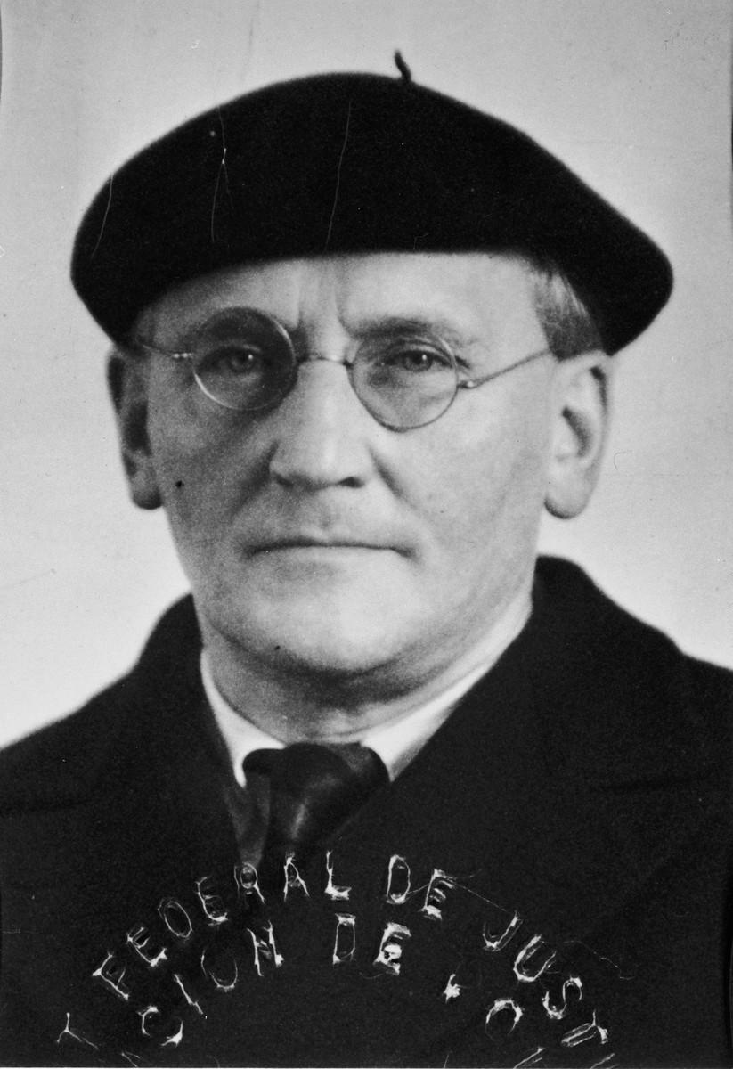 Hermann SCHERCHEN, United States Holocaust Memorial Museum, courtesy of Frieda Belinfante