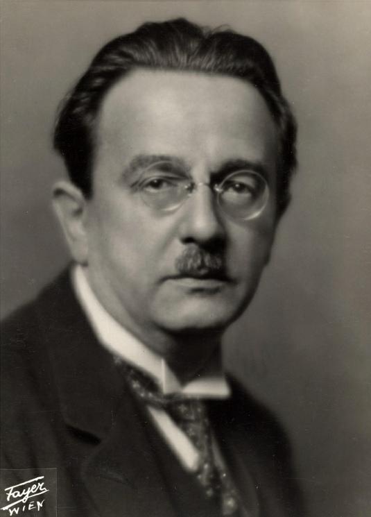 Franz SCHMIDT, Portrait fait par l'Atelier Pietzner&Fayer, Vienne, date inconnue, Cliquer sur la photo pour une vue agrandie