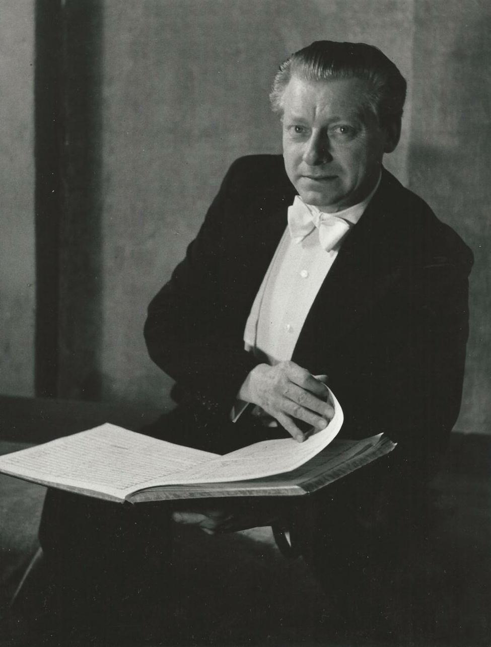Portrait de Hans SCHMIDT-ISSERSTEDT fait par Fritz ESCHER, cliquer pour une vue agrandie