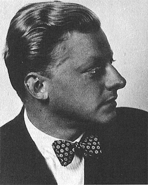 portrait du jeune Hans Schmidt-Isserstedt, site du 'Musikverein Darmstadt e.v. - Chormusik am Staatstheater Darmstadt'